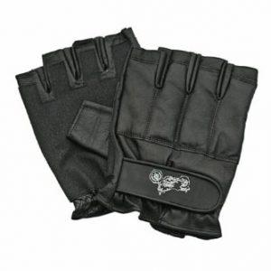 Defence-Security-Gants-Mitaine-cuir-renforces-metal-Motard-Police-SAP-Gloves-Taille-L-172576-L-0