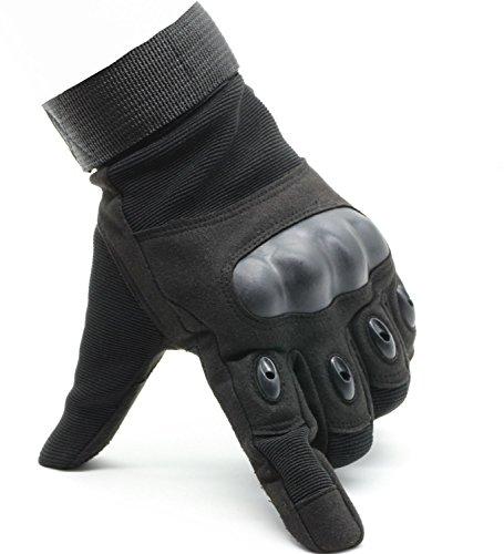 DegGod-Unisexe-Doigt-Complet-Gants-militaire-tactique-Gloves-sport-Avec-Velcro-Pour-Scooter-Auto-Moto-Vlo-Motocross-Combat-Camping-Ski-Randonne-Airsoft-ou-Protection-dautres-Activits-En-Plein-Air-Noir-0