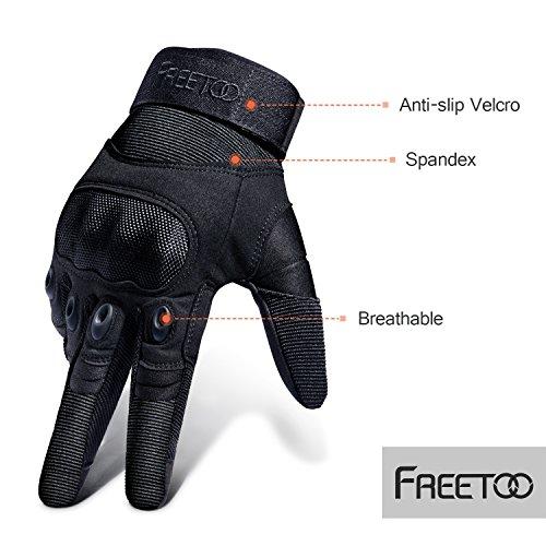 achat freetoo gants tactiques coqu s de mi saison ou et pour v lo combat camping. Black Bedroom Furniture Sets. Home Design Ideas