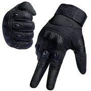FREETOO-Gants-Tactiques-Coqus-de-Mi-Saison-ou-Et-Pour-Vlo-Combat-Camping-Randonn-Scooter-Motocross-ou-Protection-des-autres-Activits-En-Plein-Air-Noir-L-0