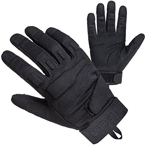 achat gants tactiques renforc s de complet doigts pour camping moto v lo conduite. Black Bedroom Furniture Sets. Home Design Ideas