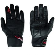 Gants-Tissu-Cuir-Et-Moto-Motard-Scooter-Haute-Qualit-Respirant-Custom-noir-XL-0
