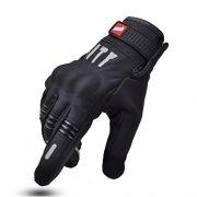 Gants-de-moto-madbike-Gants-pour-cran-tactile-pour-Moto-noir-palm-without-hole-moyen-0