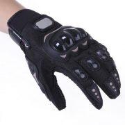Paire-Noir-Gants-Doigt-Complet-Protection-M-Moto-Vlo-Sport-Femme-Homme-0-0