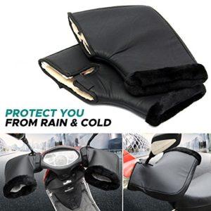 Audew-Gant-Moto-Hiver-Gant-de-Protection-Manchon-Moto-Install-sur-Poigne-Impermable-et-Thermique-Convient--Moto-Scooter-Noir-F-0