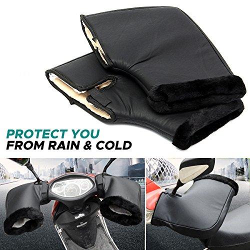 Audew-Gant-Moto-Hiver-Gant-de-Protection-Manchon-Moto-Install-sur-Poigne-Impermable-et-Thermique-Convient–Moto-Scooter-Noir-F-0