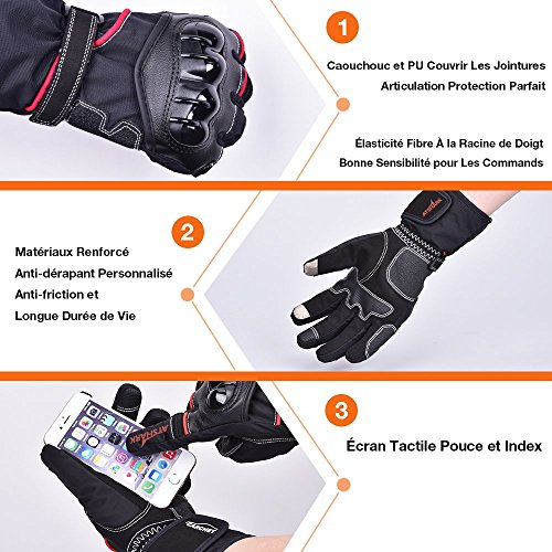 achat gants moto et scooter gant homologu obligatoire 2kp moto gant tanche hiver. Black Bedroom Furniture Sets. Home Design Ideas