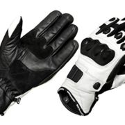 MBSmoto-Gants-de-protection-de-moto-en-cuir-blanc-0