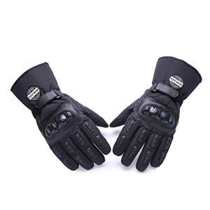 Moto-Gants-hiver-chaud-gants-de-protection-100-impermable-Impermable-Coupe-Vent-GUANTES-luvas-XXL-BLACK-0
