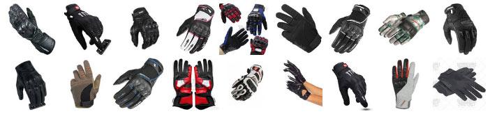 sélection de gants moto