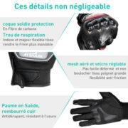 Gants-Moto-Scooter-Gant-Moto-Homologu-CE-1KP-Gants-Mi-Saison-Durable-Confortable-Gant-Moto-Femme-Homme-Anti-Usure-cran-Tactile-Protection-Coque-Carbonne-Anti-Choc-Bonne-Sensibilit-0-0