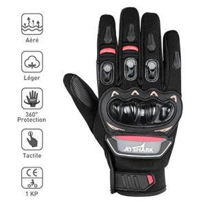 Gants-Moto-Scooter-Gant-Moto-Homologu-CE-1KP-Gants-Mi-Saison-Durable-Confortable-Gant-Moto-Femme-Homme-Anti-Usure-cran-Tactile-Protection-Coque-Carbonne-Anti-Choc-Bonne-Sensibilit-0