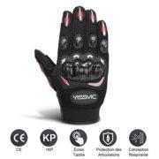 Yissvic-Gants-Moto-Homologus-CE-1KP-Gants-Scooter-t--cran-Tactile-Plein-doigt-Anti-Glissant-Anti-Usure-Noir-Taille-M-22-24cm-Version-Amliore-0