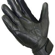 Court-t-Cuir-Vritable-Gants-Moto-Articulation-Coque-Protection-noir-L-Noir-0-0
