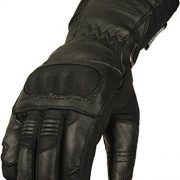 INFINITY-SPECTRE-Cuir-Gants-Moto-Articulation-Protection-tanche-thermique-Hiver-Textile-rembourr-protection-Medium-0