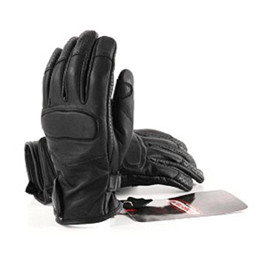 RIDER-TEC-Gants-Moto-Cuir-Homologu-Noir-Taille-L-0