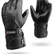 Hiver-Cuir-Gants-Moto-Rflective-Impermable-Rembourr-Thermique-XL-0