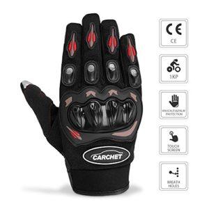CARCHET-Gants-Moto-Homologu-CE-1KP-Gants-Scooter-t-Homologu-L-Respirable-Professionnel-Anti-Choc-Anti-Glissant-Anti-Usure-Gants-de-Moto-Printemps-Automne-avec-cran-Tactile-pour-Tlphone-ou-Gps-0