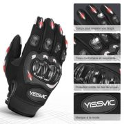Yissvic-Gants-Moto-Homologus-CE-1KP-Gants-Scooter-t--cran-Tactile-Plein-doigt-Anti-Glissant-Anti-Usure-Noir-Taille-M-22-24cm-Version-Amliore-0-0