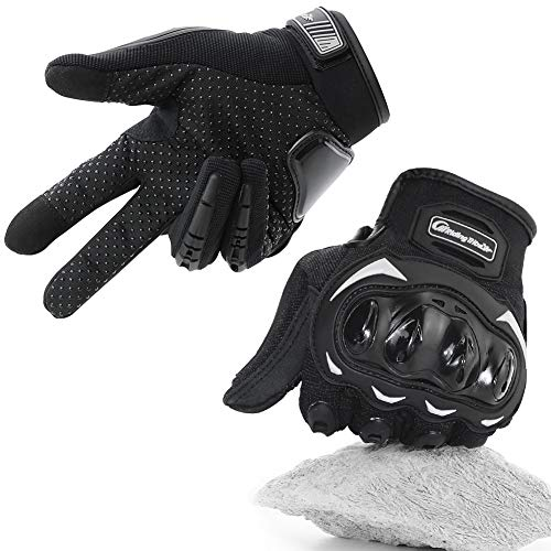 COFIT-Gants-de-Moto-Gants–cran-Tactile-Plein-doigt-pour-la-Course-de-Moto-VTT-Escalade-Chasse-Randonne-et-Autres-Sports-de-Plein-Air-L-0
