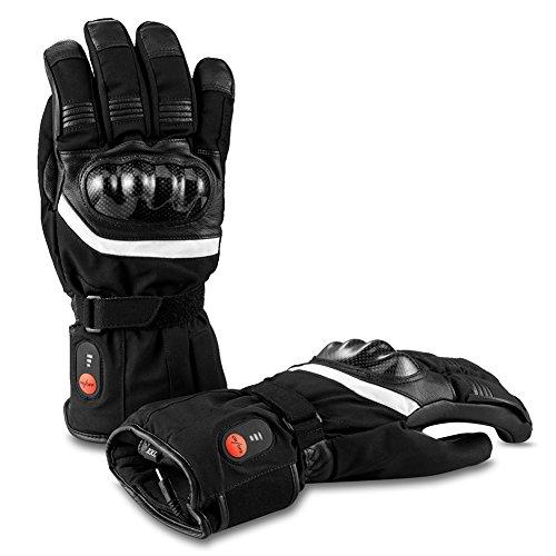 Savior-Heated-Gants-Chauffants-avec-Batterie-Rechargeable-Li-ION-pour-Hommes-et-Femmes-Gants-Chauffants-pour-Le-Cyclisme-Randonne-Moto-Ski-Lalpinisme-autonomie-jusqu-25–6-Heures-0