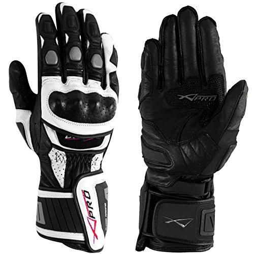 Sport-Piste-Racing-Gants-Moto-Motard-Cuir-Protections-Phalanges-Renforcs-0