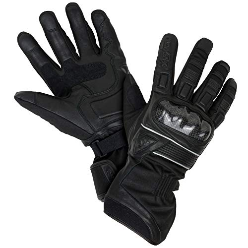 MAXAX-Gants-Moto-Homologu-CE-2KP-Femme-Homme-2019-Hiver-Impermable-avec-3M-Thinsulate-Doublure-Double-Multi-Renfort-Protection-Cuir-Vritable-et-Textile-Tactile-pour-Smartphones-GPS-0