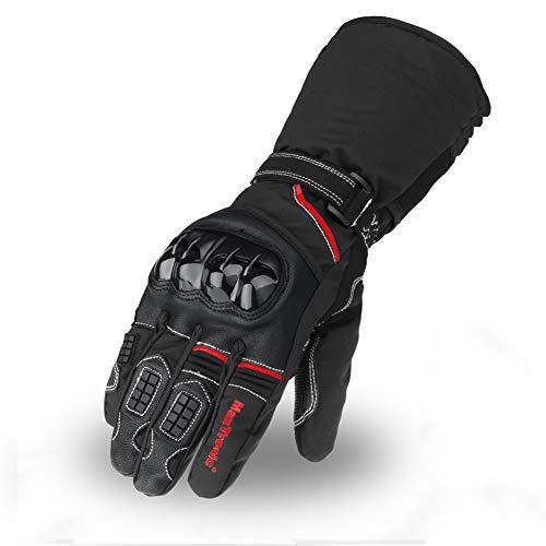 Gants-Moto-Hiver-Homologus-CE-2KP-Gant-Scooter-Tactile-Impermable-et-Chaud-Obligatoire-Avec-3M-Thinsulate-Cuir-Vritable-et-Textile-Multi-Renforts-et-Protections-pour-motocross-VTT-Homme-Femme-0