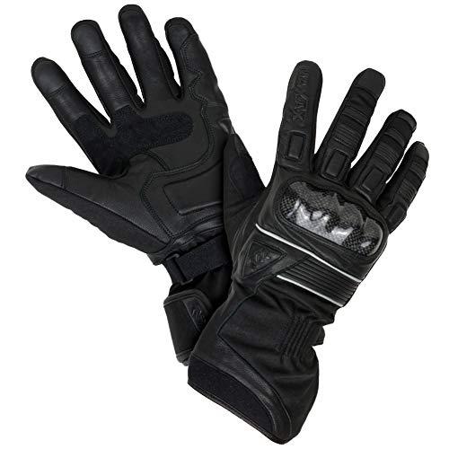 MAXAX-Gants-Moto-Hiver-Homologus-CE-Gant-Scooter-Tactile-dHiver-Homologu-2KP-Impermable-et-Thermique-Avec-Thinsulate-Cuir-Vritable-et-Textile-Multi-Renforts-Femme-et-Homme-XL-0