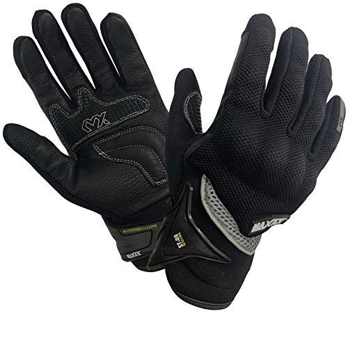 MAXAX-Gants-Moto-Motocross-Scooter-Homologus-CE-Gant-Tactile-Respirable-Homologu-1KP-Norme-Europenne-CE-En-Cuir-Et-Textile-Confortable-et-de-Qualit-Unisexe-et-Mi-saison-Taille-M-0